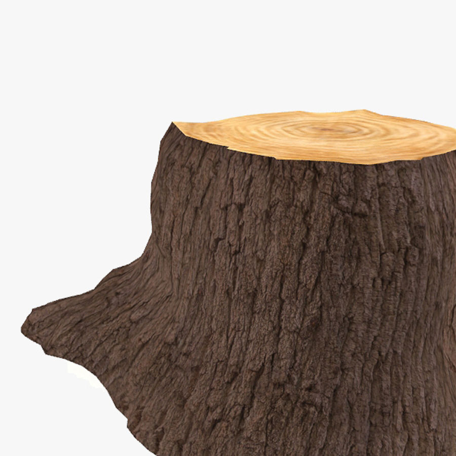 Tree Trunk royalty-free 3d model - Preview no. 4