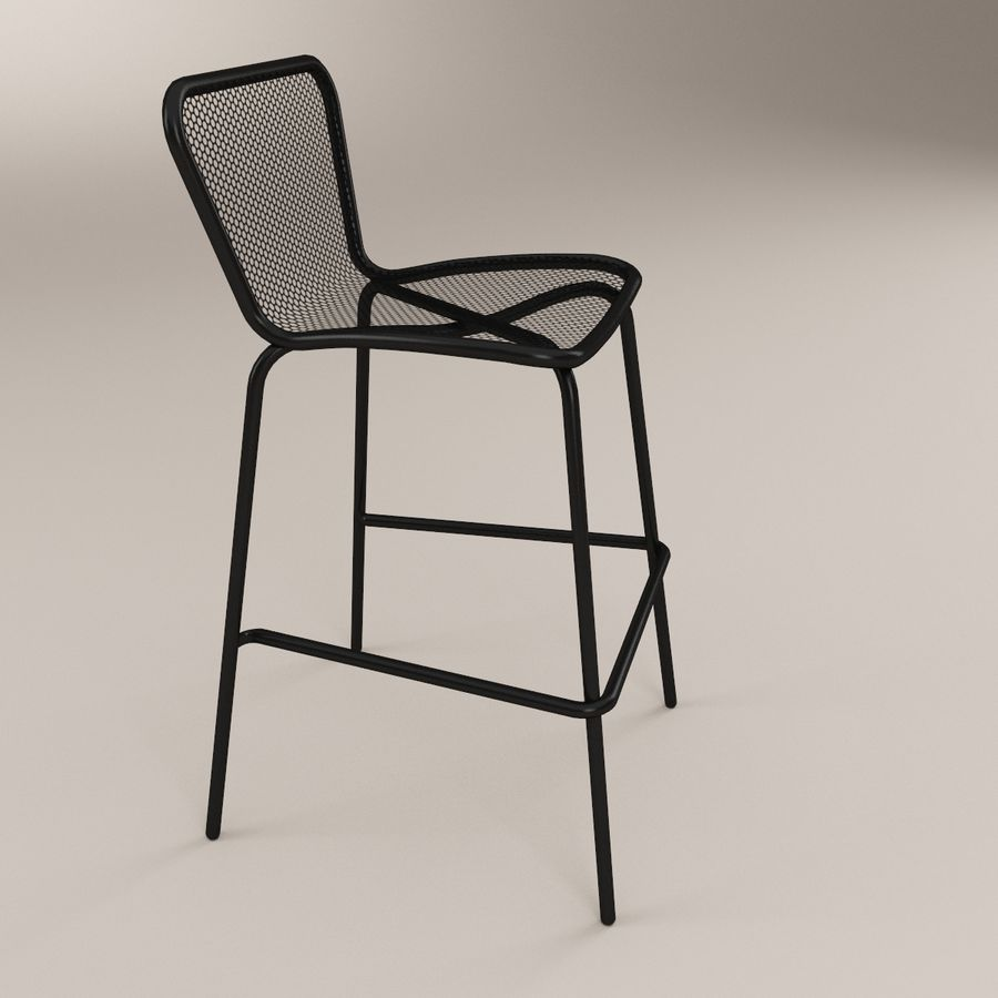 Fabulous Khali Bar Stool 3D Model 9 Max C4D Ma Fbx 3Ds Obj Gmtry Best Dining Table And Chair Ideas Images Gmtryco