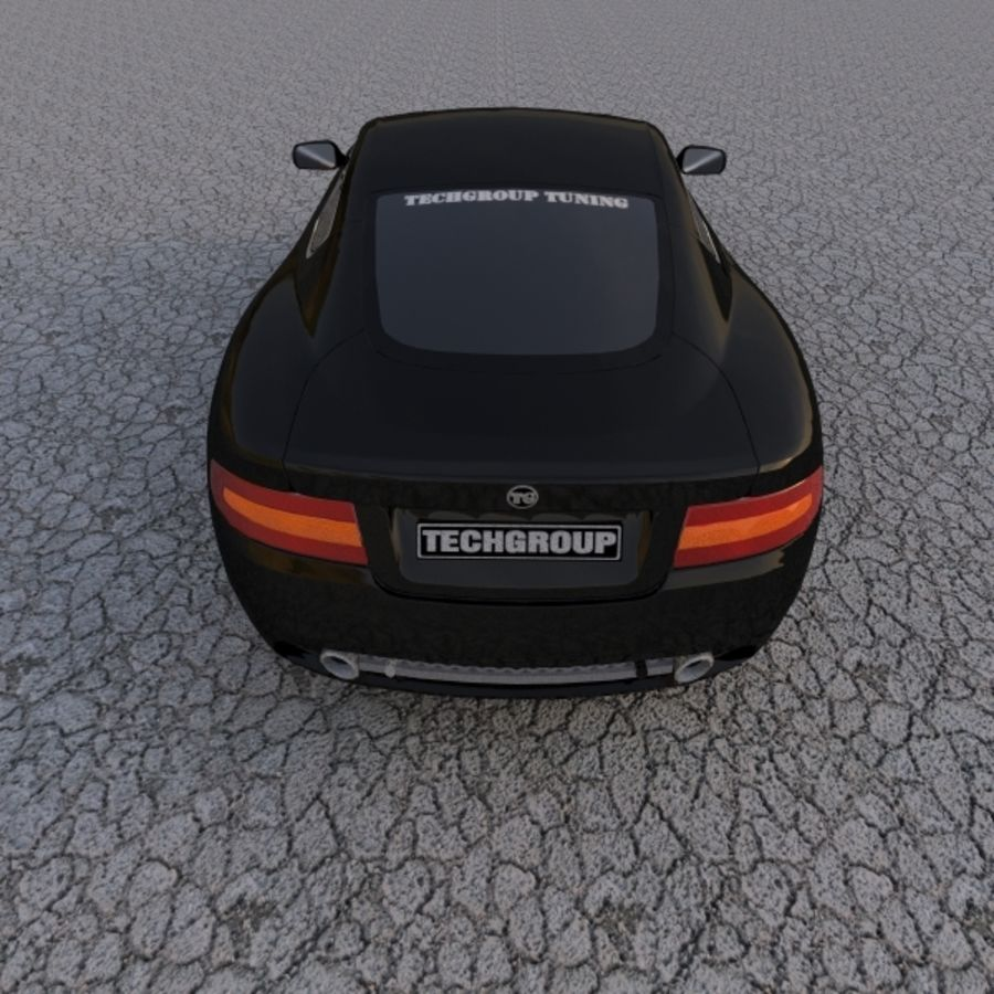 Aston Martin DBR Tuned royalty-free 3d model - Preview no. 5