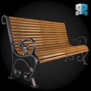Bench 004 3d model