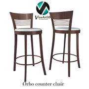 Orbo Bar Stool Chair 3d model