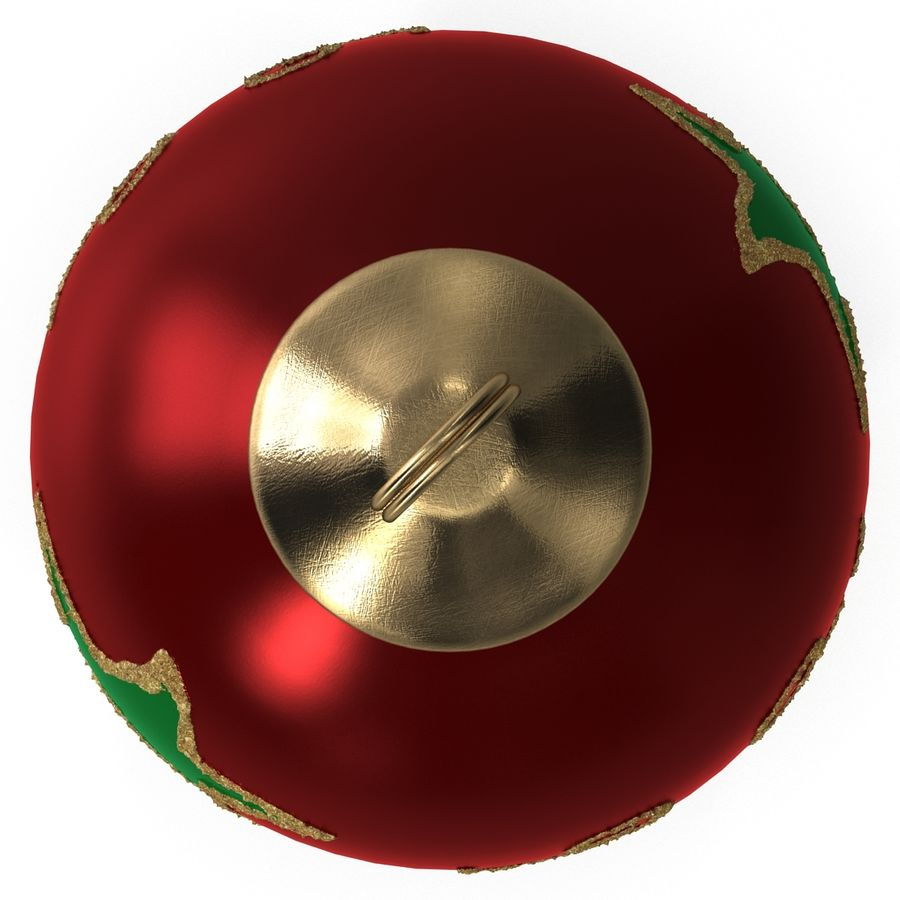 Christmas Ornament Ball 2 royalty-free 3d model - Preview no. 8