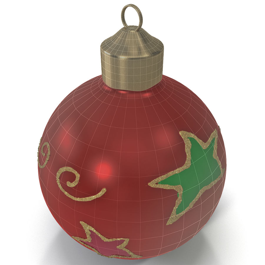 Christmas Ornament Ball 2 royalty-free 3d model - Preview no. 3