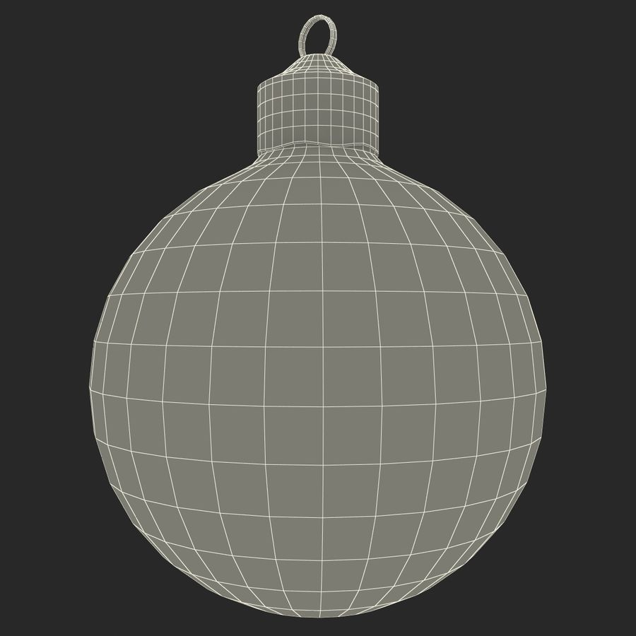Christmas Ornament Ball 2 royalty-free 3d model - Preview no. 12