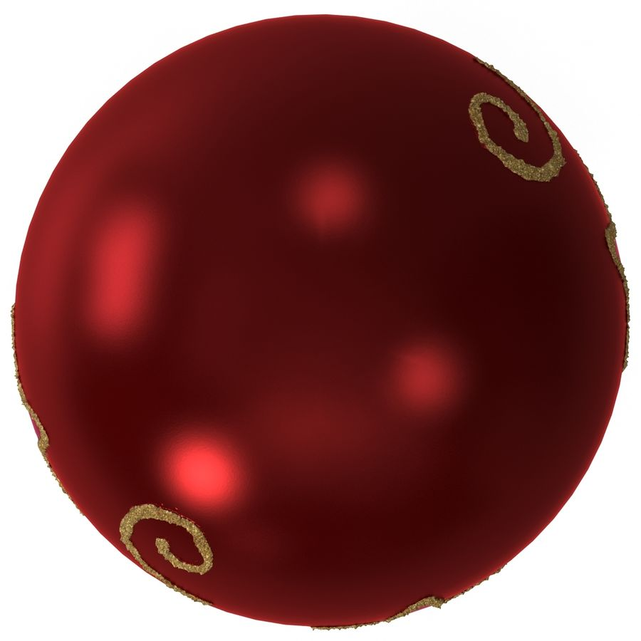 Christmas Ornament Ball 2 royalty-free 3d model - Preview no. 9