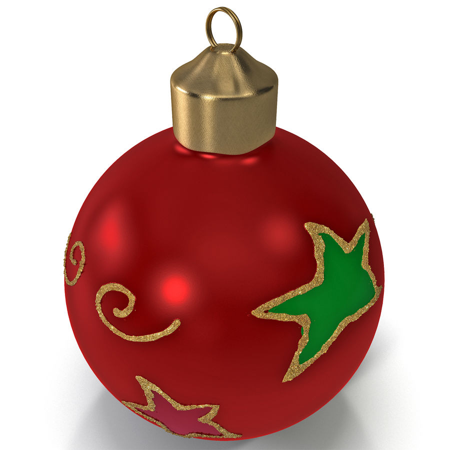 Christmas Ornament Ball 2 royalty-free 3d model - Preview no. 2