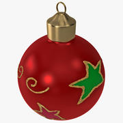 Christmas Ornament Ball 2 3d model