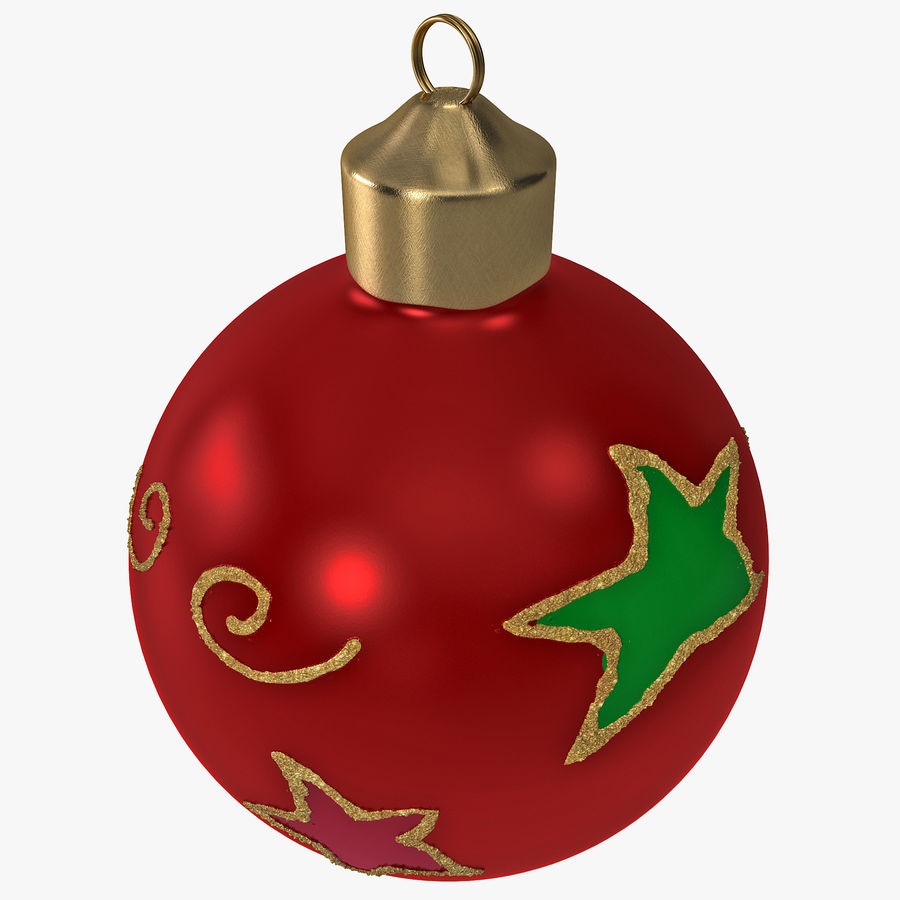 Christmas Ornament Ball 2 royalty-free 3d model - Preview no. 1