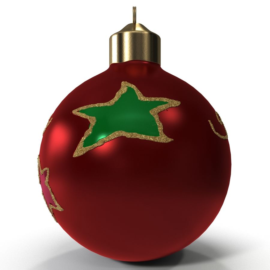 Christmas Ornament Ball 2 royalty-free 3d model - Preview no. 5
