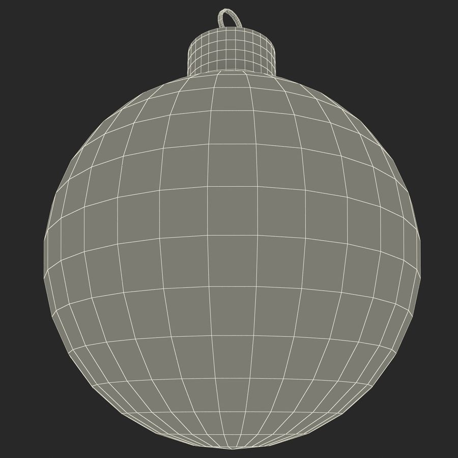 Christmas Ornament Ball 2 royalty-free 3d model - Preview no. 16