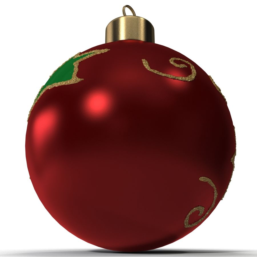 Christmas Ornament Ball 2 royalty-free 3d model - Preview no. 11