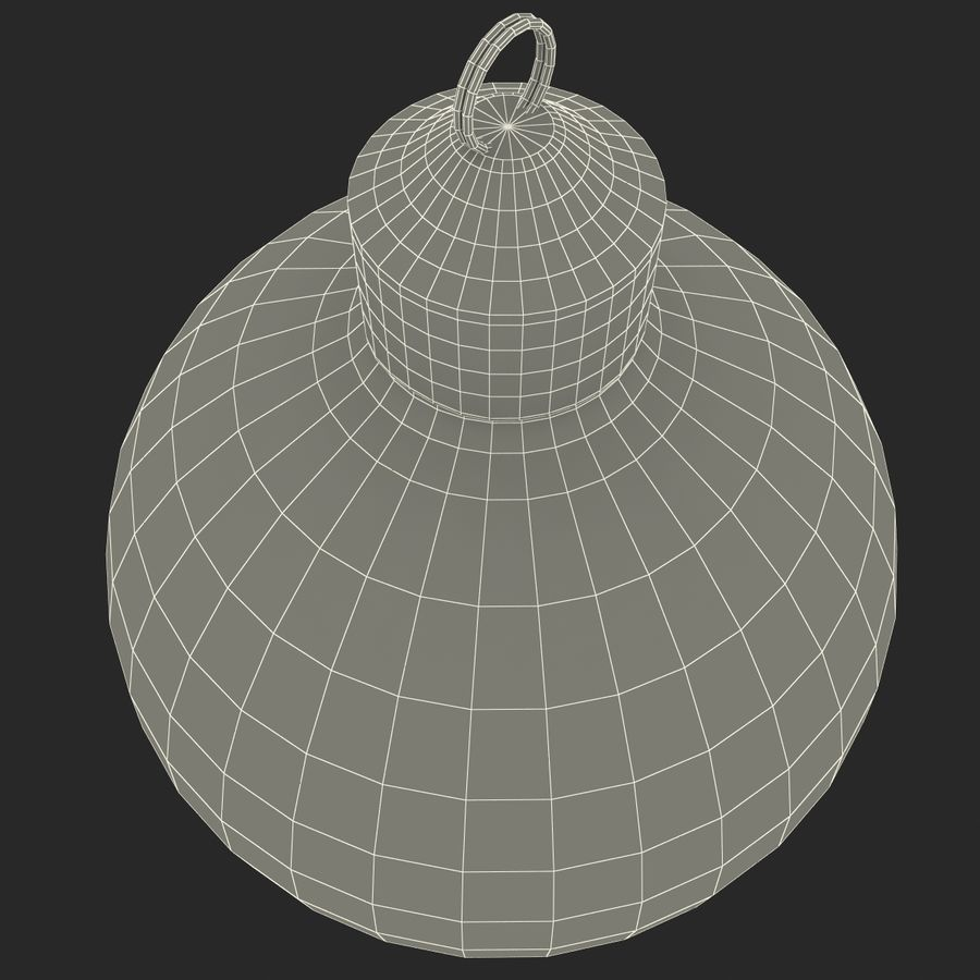 Christmas Ornament Ball 2 royalty-free 3d model - Preview no. 15