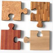 Square Puzzle A 3d model