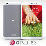 LG G Pad 8.3 3d model