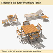 Ibiza Outdoor Furniture 3d model
