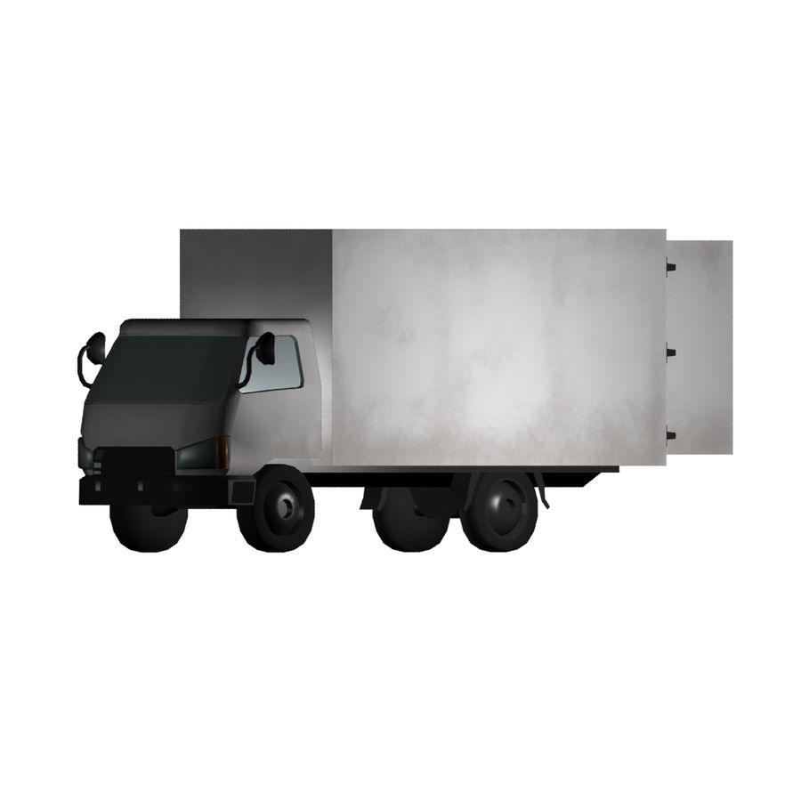 卡车 royalty-free 3d model - Preview no. 1