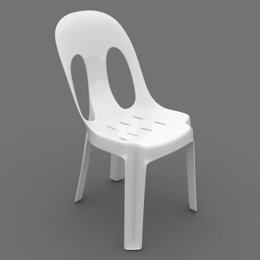 Sedia di plastica Modello 3D $25 - .max - Free3D