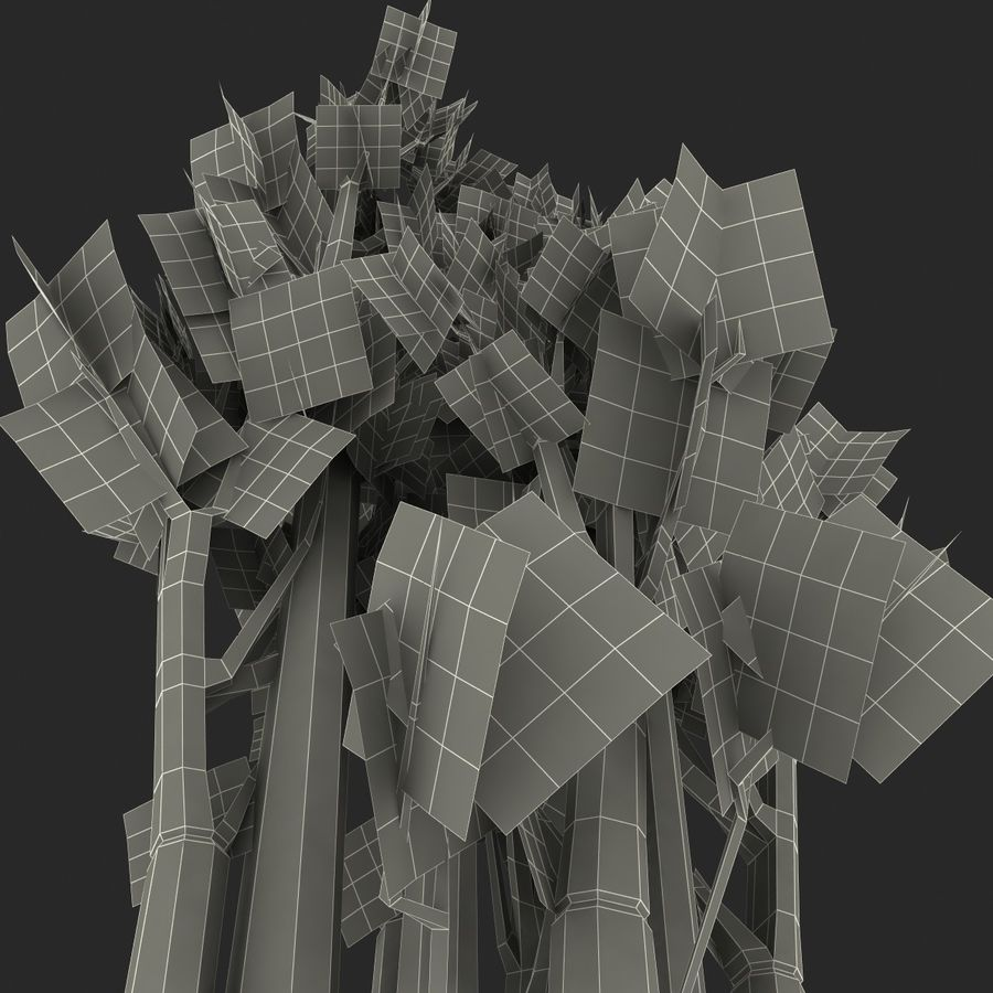 Celery royalty-free 3d model - Preview no. 18