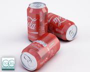 CocaCola C 3d model
