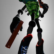Allround Gamecharacter 3d model