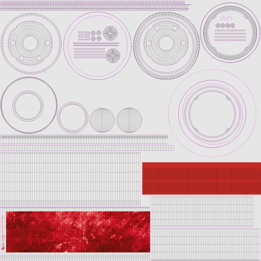 饮料杯 royalty-free 3d model - Preview no. 13