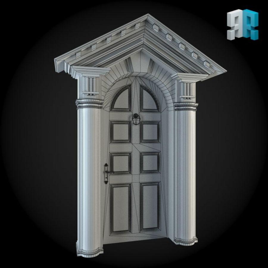 Door 023 royalty-free 3d model - Preview no. 2