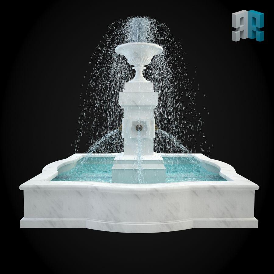 Fontana 001 royalty-free 3d model - Preview no. 3