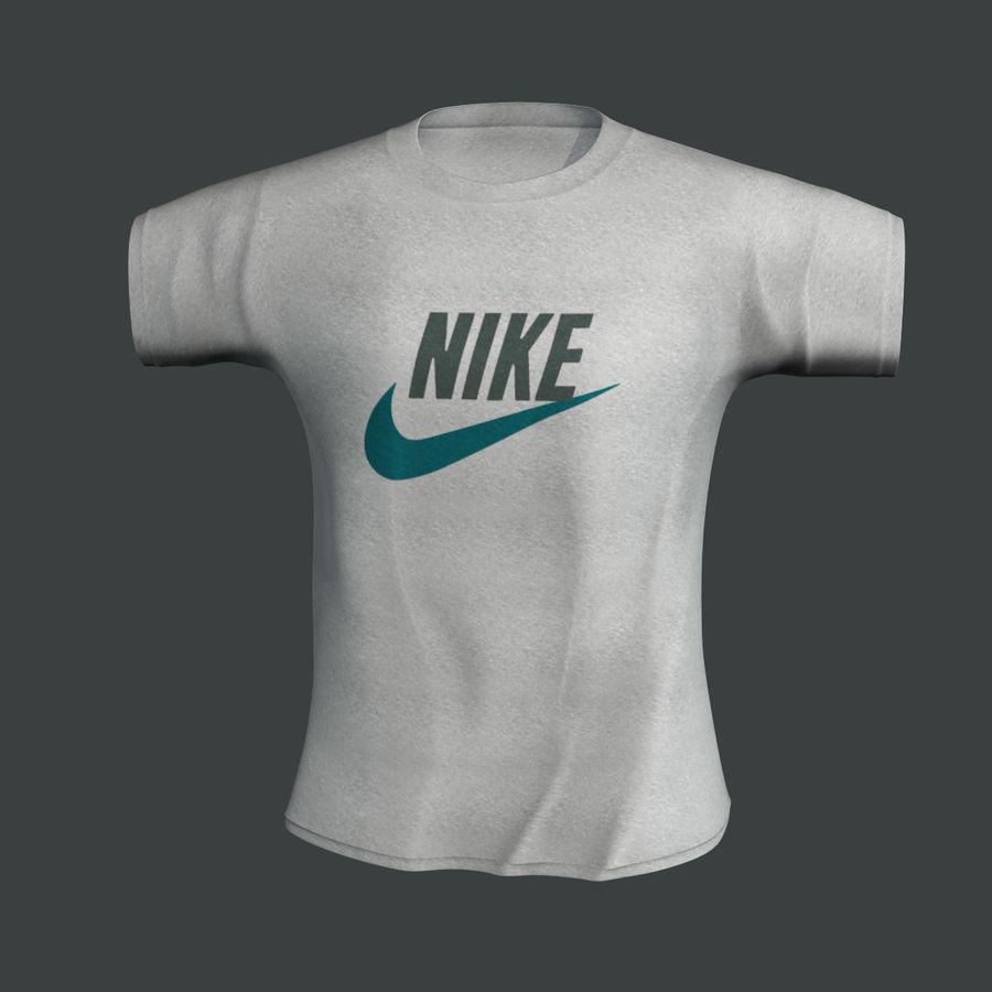 Camiseta Nike royalty-free modelo 3d - Preview no. 2