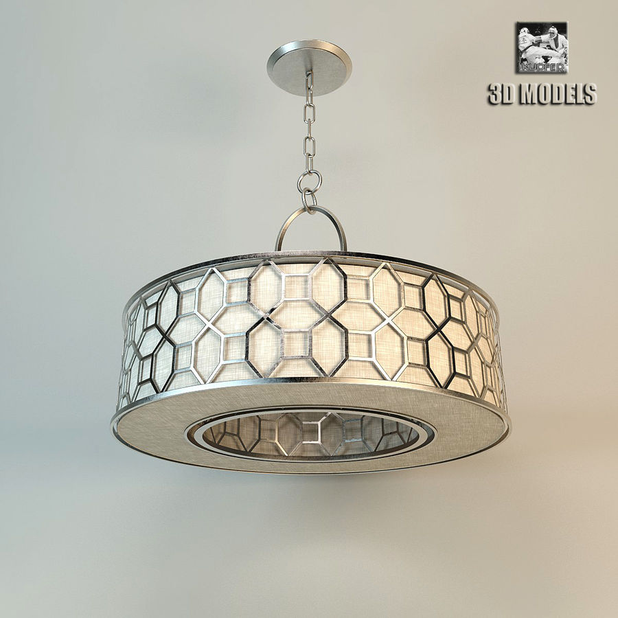 Fine Art Lamps Pendant 3d Model