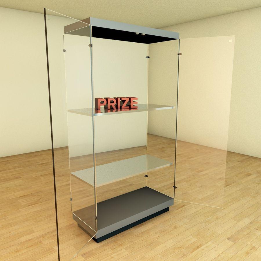 Glass Showcase Cabinet 3d Model