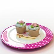 Cupcake_018 3d model