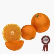 Pomarańczowy 3d model