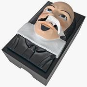 Shakespeare Tissue Box 3d model