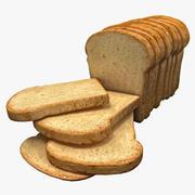 Bread 6 3d model
