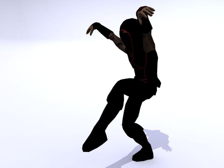 Ninja royalty-free 3d model - Preview no. 5