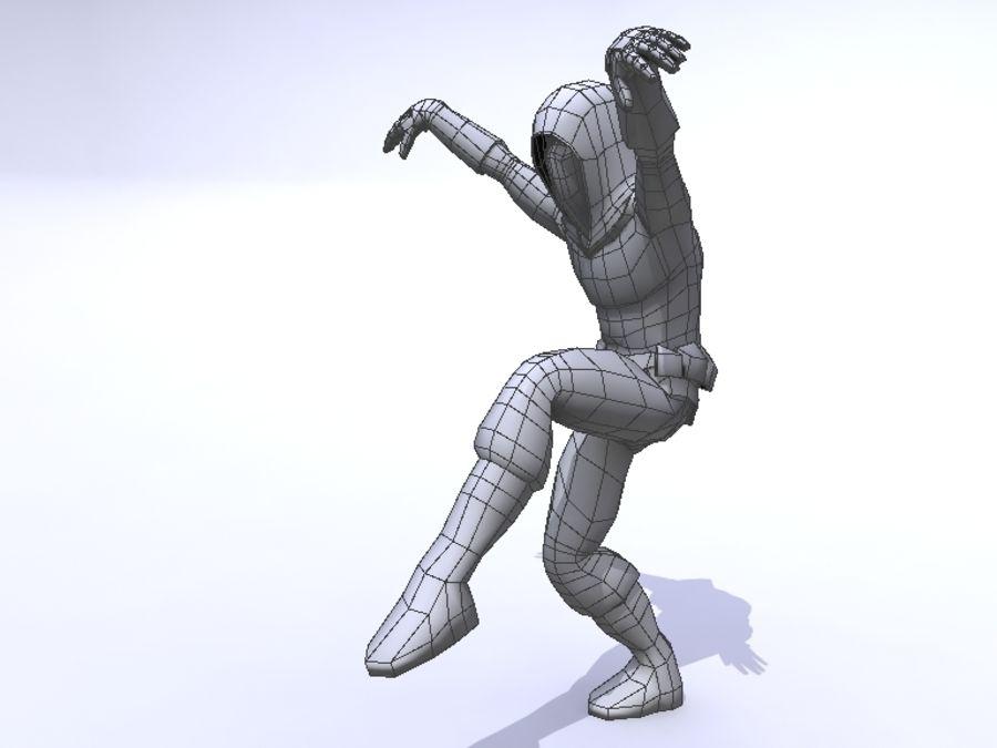 Ninja royalty-free 3d model - Preview no. 6