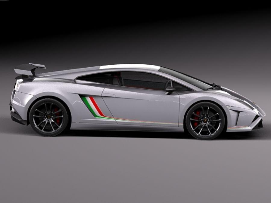 Lamborghini Gallardo Squadra Corse 2014 royalty-free 3d model - Preview no. 7