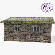 Stone Shed A 3d model