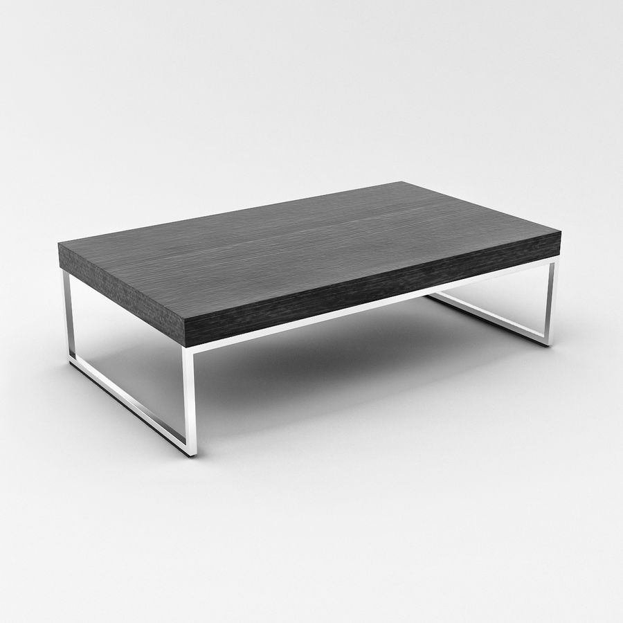 BoConcept Coffee Table 03 Royalty Free 3d Model   Preview No. 2