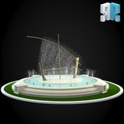 喷泉037 3d model