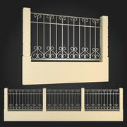 Fence 003 3d model