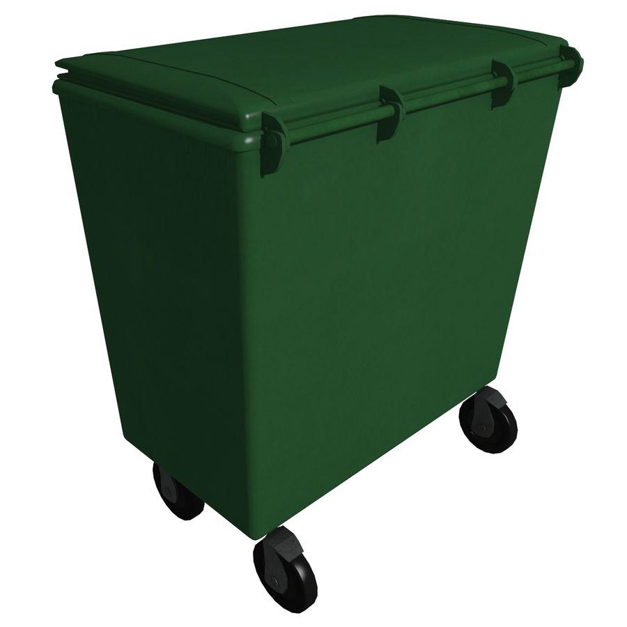 Box Per Bidoni Spazzatura bidone per rifiuti m-02 modello 3d $9 - .max .fbx - free3d