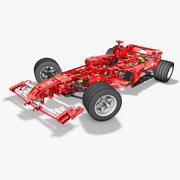 Lego8674 F1 Racers 3d model