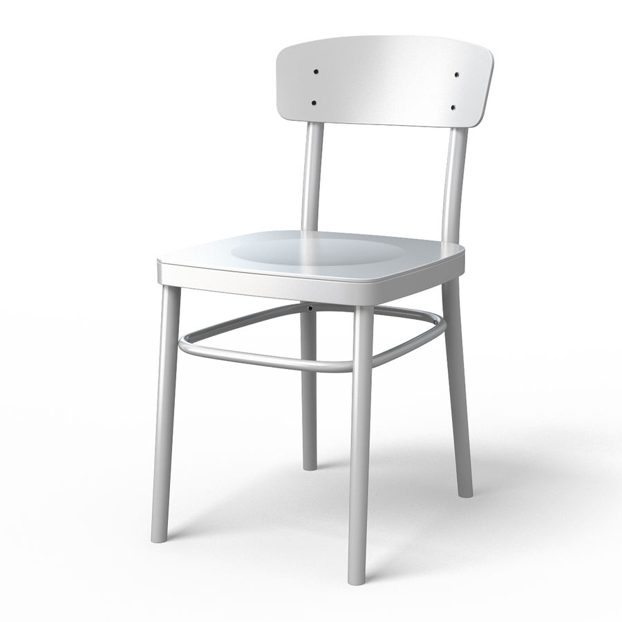 Magnificent Idolf Dining Chair 3D Model 8 Fbx 3Ds Obj Max Free3D Alphanode Cool Chair Designs And Ideas Alphanodeonline