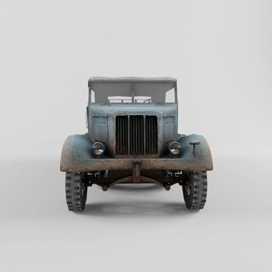 SdKfz 7 royalty-free 3d model - Preview no. 20