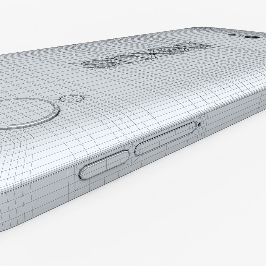 LG Google Nexus 5 royalty-free 3d model - Preview no. 22