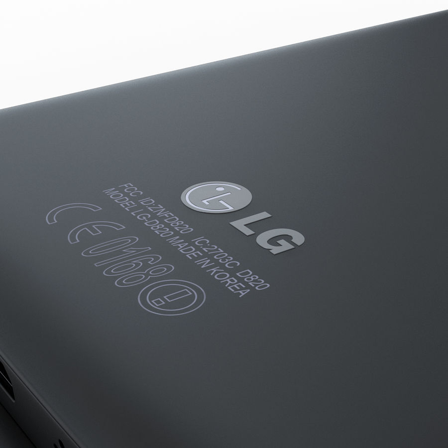 LG Google Nexus 5 royalty-free 3d model - Preview no. 10