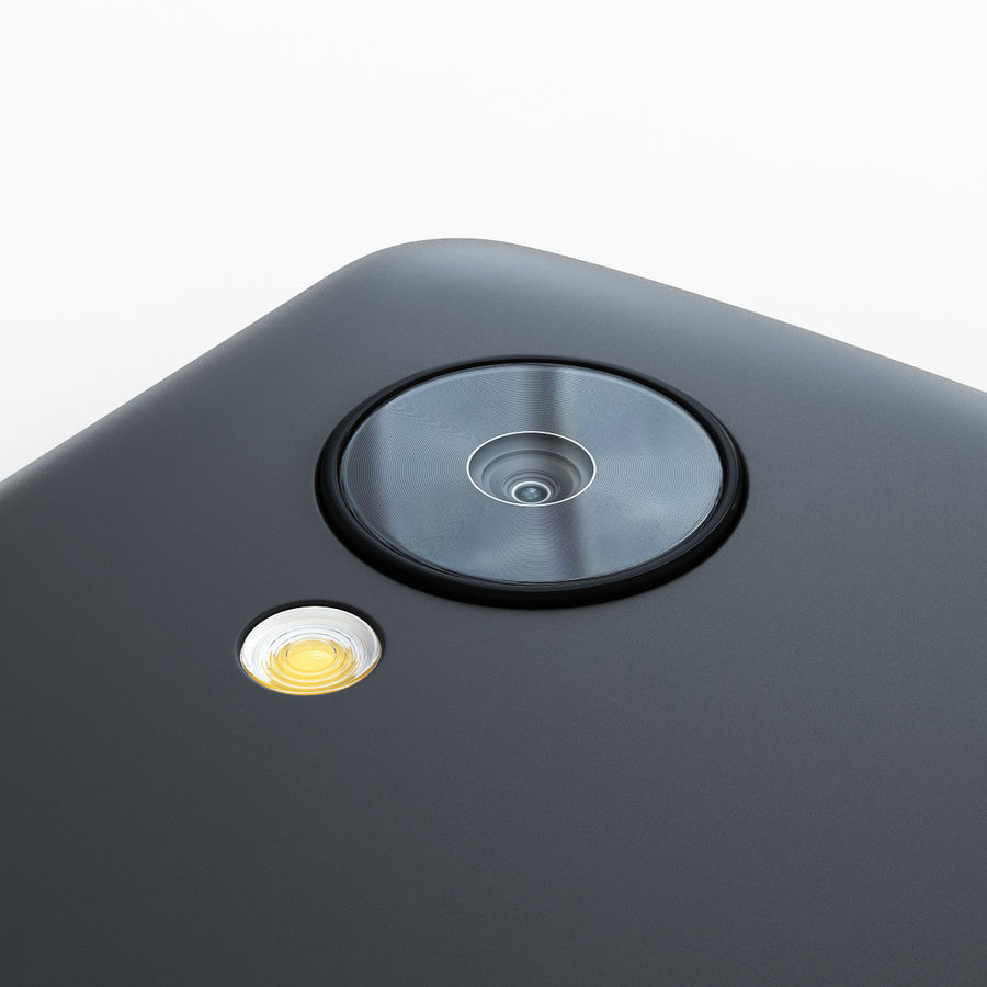 LG Google Nexus 5 royalty-free 3d model - Preview no. 13