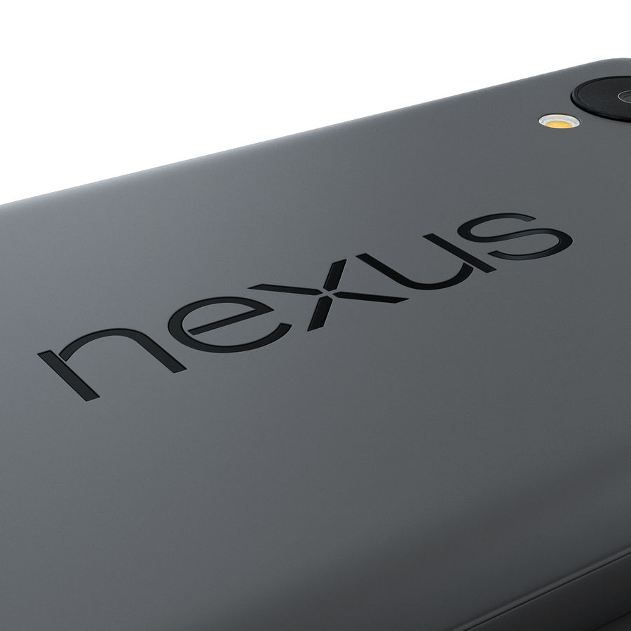 LG Google Nexus 5 royalty-free 3d model - Preview no. 11