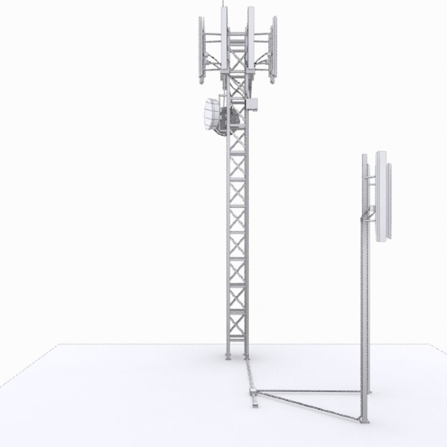 Base Station M-01 royalty-free 3d model - Preview no. 7